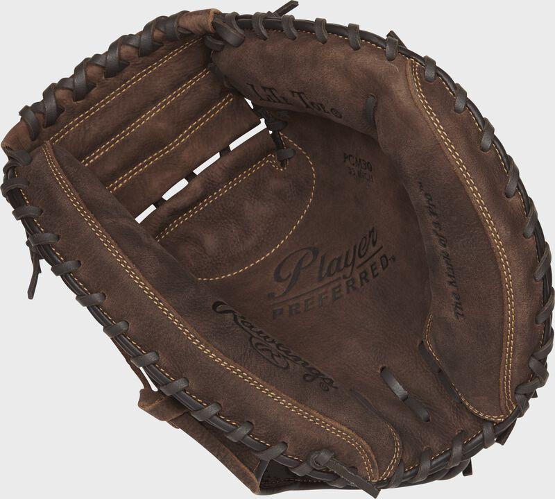 Player Preferred 33 in Catchers Mitt