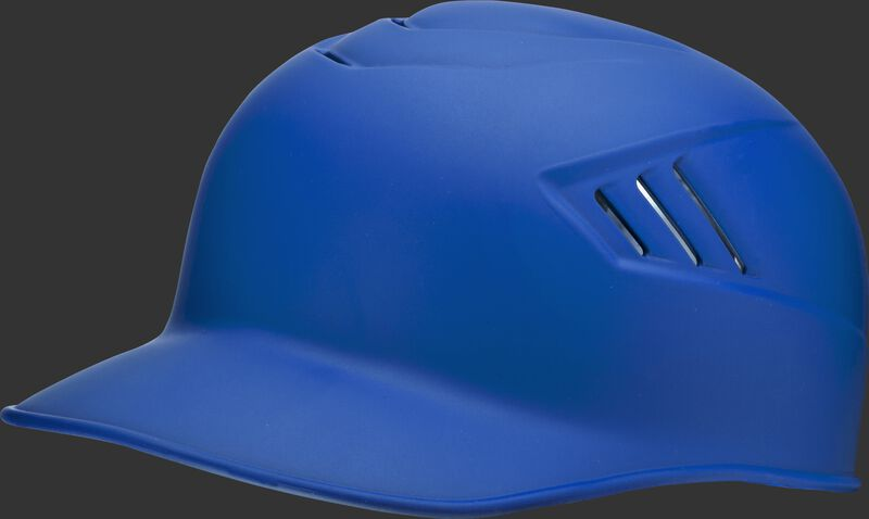 A matte royal CFPBHM adult Coolflo base coach helmet