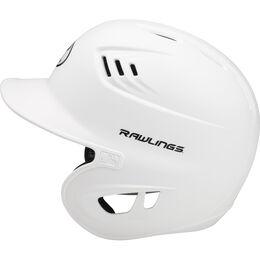 Coolflo High School/College Matte Batting Helmet White