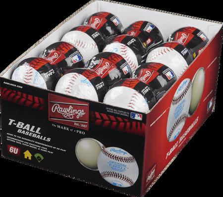 24 Pack T-Ball 6U Training Baseballs