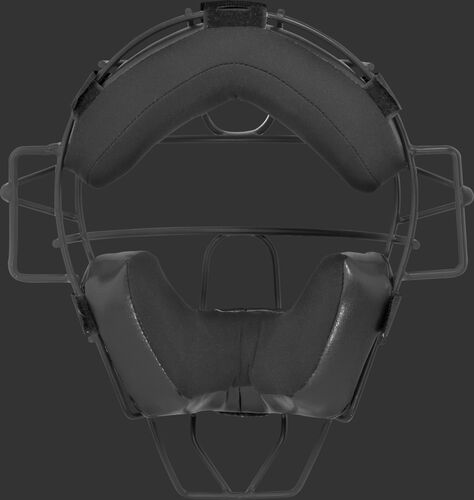 Black padding on a LWMXTI-B umpire facemask