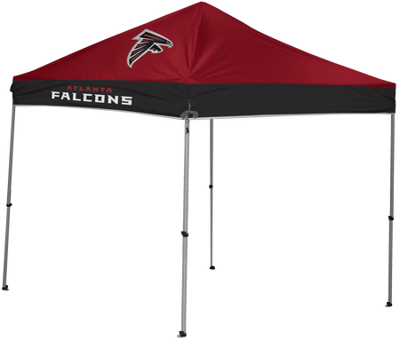 NFL Atlanta Falcons 9x9 Shelter with 4 team logos