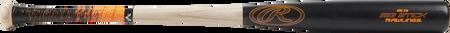 R318AV Big Stick ash wood bat with a black barrel and natural wood handle