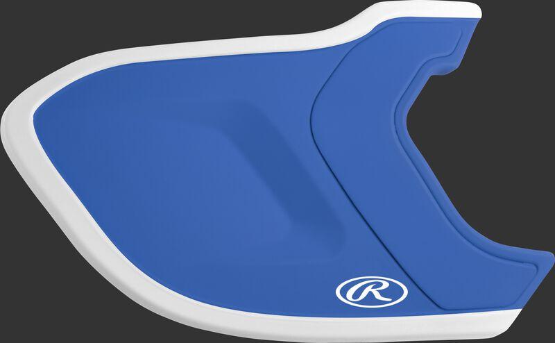 Royal/White MEXT2L Mach EXT Two-Tone batting helmet extension