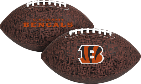 NFL Cincinnati Bengals Air-It-Out youth football with team logo