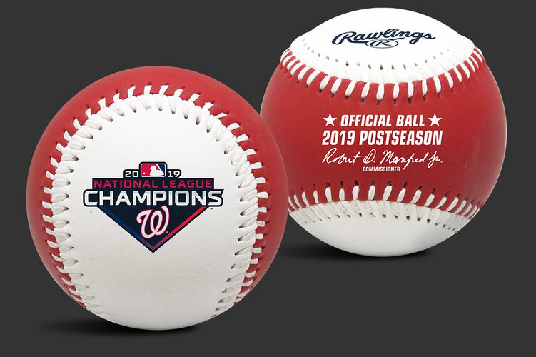 2019 Washington Nationals National League Champions Replica Baseball