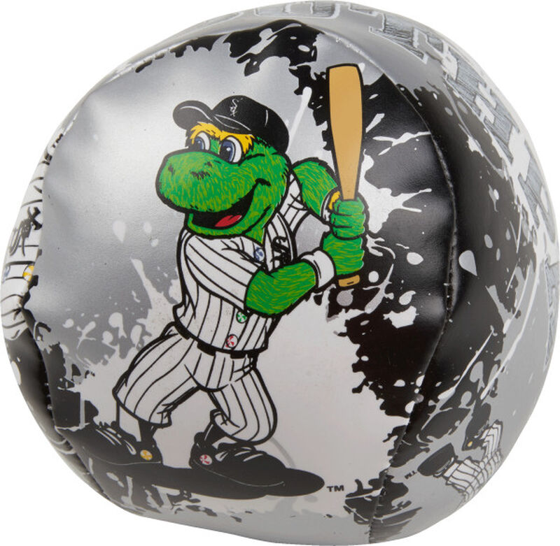 Rawlings Chicago White Sox Quick Toss 4'' Softee Baseball With Team Mascot On Front In Team Colors SKU #01320029112