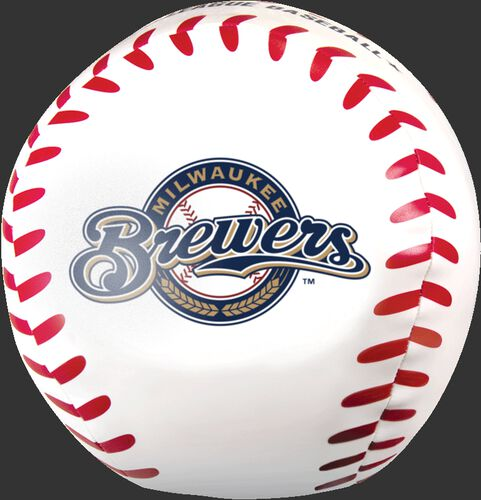 MLB Milwaukee Brewers Big Boy 8 in Softee Baseball