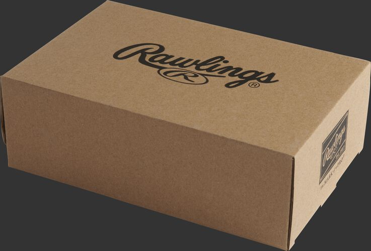 A Rawlings box designed to hold 3 baseballs - SKU: PMBBPK6