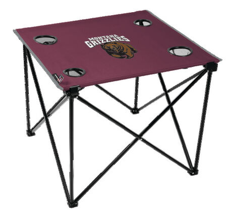 NCAA Montana Grizzlies Deluxe Tailgate Table