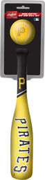 MLB Pittsburgh Pirates Slugger Softee Mini Bat and Ball Set