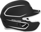 Right side of a two-tone MACHEXTR Rawlings MACH helmet with EXT extension piece for left hand batters image number null