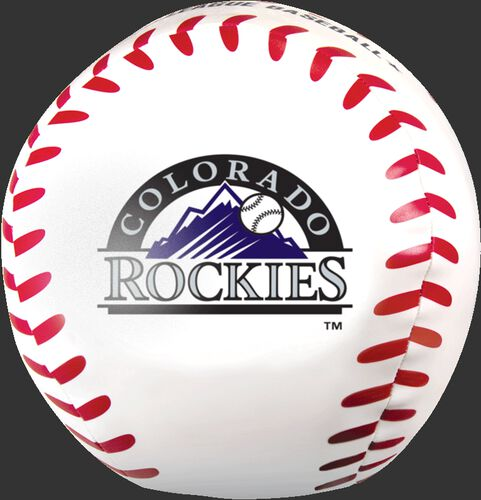 MLB Colorado Rockies Big Boy 8 in Softee Baseball