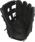 Black palm of a Rawlings Gameday 57 Series Cody Bellinger glove with a black web and black laces - SKU: PRO442-CB35 image number null
