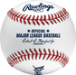 A MLB 2021 Home Run Derby baseball with the official Ball of MLB stamp - SKU: RSGEA-ROMLBHR21-R image number null