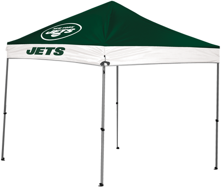 NFL New York Jets 9x9 shelter with team logos and colors