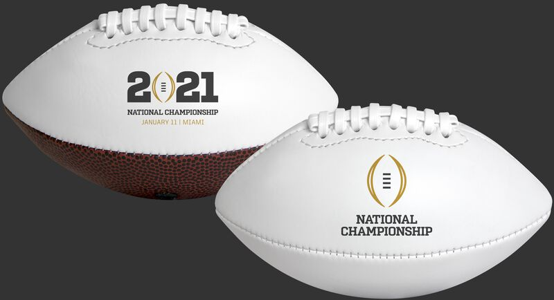 2021 College Football National Championship Youth Sized Football