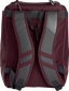 Back of a maroon Rawlings Franchise backpack with gray shoulder straps - SKU: FRANBP-MA image number null