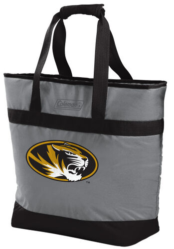 Rawlings Missouri Tigers 30 Can Tote Cooler In Team Colors With Team Logo On Front SKU #07883086111
