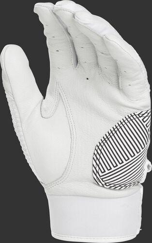 White palm of a WH950BGY-W white Workhorse batting glove