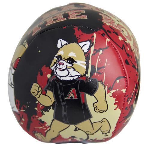 Rawlings Arizona Diamondbacks Quick Toss 4'' Softee Baseball With Team Mascot On Front In Team Colors SKU #01320010113