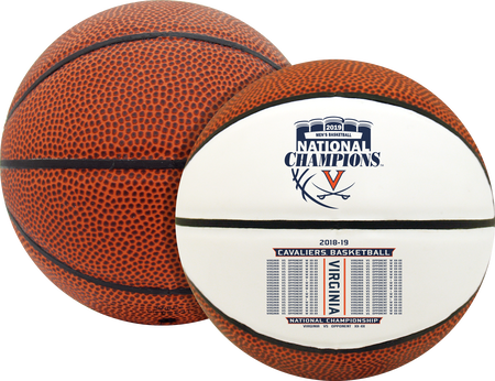 2019 NCAA National Champions Virginia Cavaliers Mini Size Basketball