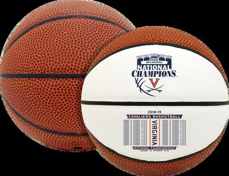 2019 NCAA National Champions Virginia Cavaliers Mini Size Basketball