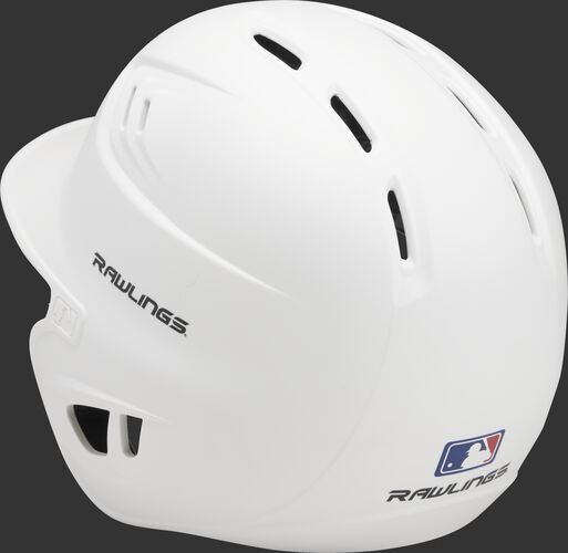 Coolflo High School/College Matte Batting Helmet White