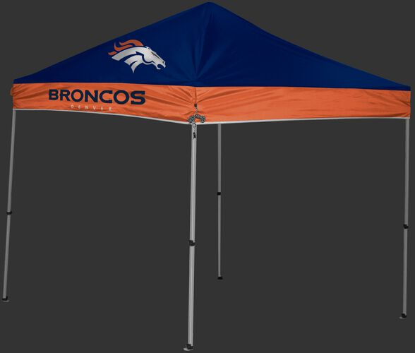 Rawlings Navy and Orange NFL Denver Broncos 9x9 Canopy Shelter With Team Logo and Name SKU #03231066111