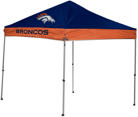 NFL Denver Broncos 9x9 shelter with 4 team logos