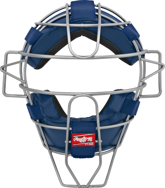 Adult Lightweight Hollow Wire Catcher/Umpire Mask Navy