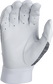White palm of a 5150WGB-W Rawlings youth 5150 batting glove image number null