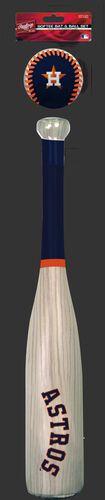 MLB Houston Astros Bat and Ball Set