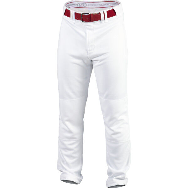 Adult Premium Straight Pant White