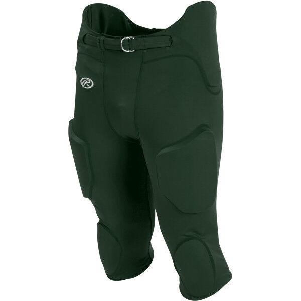 Adult Lightweight Football Pants Dark Green