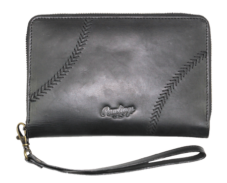 Baseball Stitch iPhone Zip Wallet