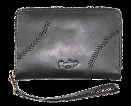 Baseball Stitch iPhone Zip Wallet