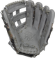 Gray palm of a Rawlings Heart of the Hide Trent Grisham glove with gray laces - SKU: RSGPRO3029-TG2 image number null