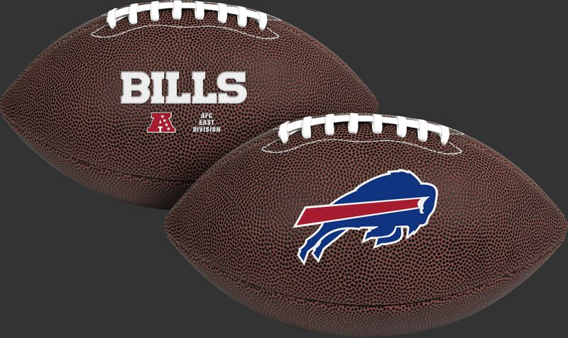 NFL Buffalo Bills Air-It-Out youth football with team logo and team name SKU #08041061121
