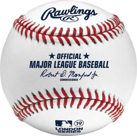 Official 2019 MLB® London Series™ On-Field Baseball