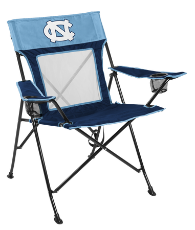NCAA North Carolina Tar Heels Game Changer chair with the team logo