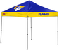A Los Angeles Rams 9'x9' straight leg canopy image number null