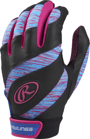 Eclipse Girl's Softball Batting Gloves