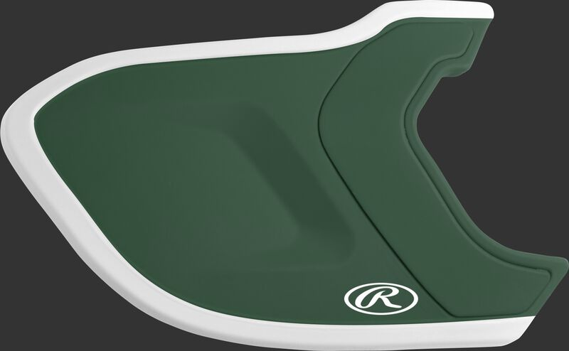 MEXT2R dark green/white Mach EXT Two-Tone batting helmet extension