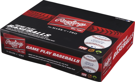 Youth 12U Game Play Baseballs