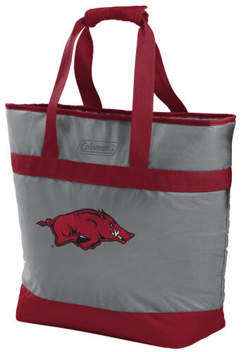 Rawlings Arkansas Razorbacks 30 Can Tote Cooler In Team Colors With Team Logo On Front SKU #07883069111