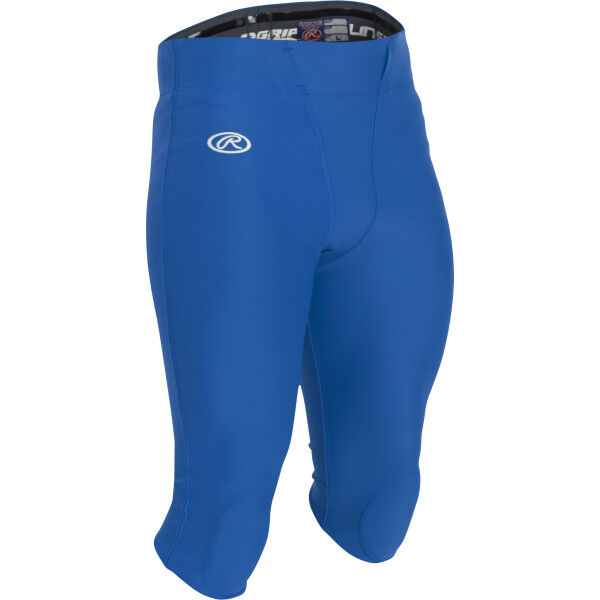 Adult Football Pants with Knee Pads Royal