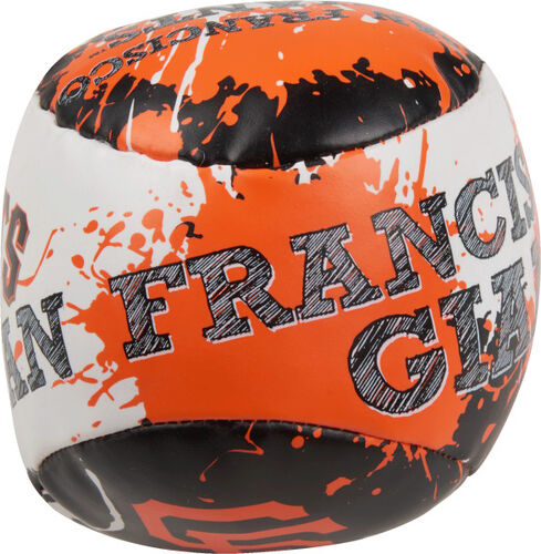 Top of Rawlings San Francisco Giants Quick Toss 4'' Softee Baseball With Team Name On Front In Team Colors SKU #01320013112