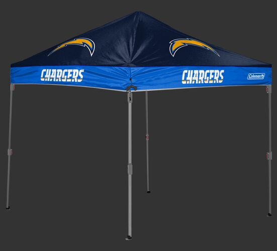Rawlings Blue and Navy NFL Los Angeles Chargers 10x10 Canopy Shelter With Team Logo and Name SKU #03221083111