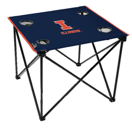 NCAA Illinois Fighting Illini Deluxe Tailgate Table